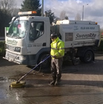 Reading Sweeper Hire - SweepRite Scarab Monic sweeper